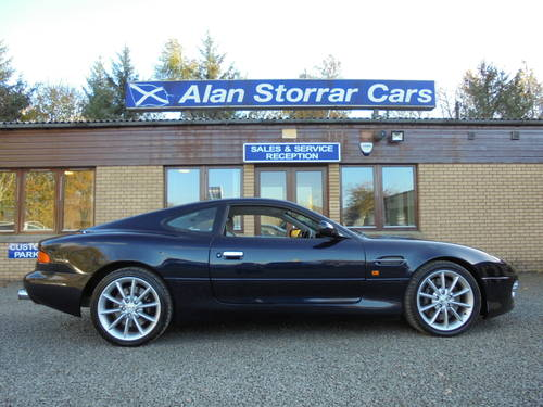 2001 Low Mileage Aston Martin DB7 Vantage For Sale (picture 3 of 6)