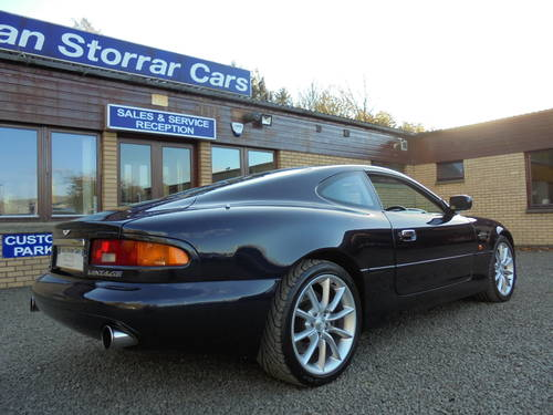 2001 Low Mileage Aston Martin DB7 Vantage For Sale (picture 4 of 6)