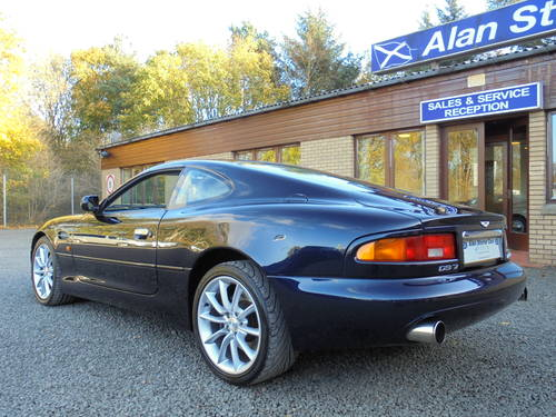 2001 Low Mileage Aston Martin DB7 Vantage For Sale (picture 5 of 6)