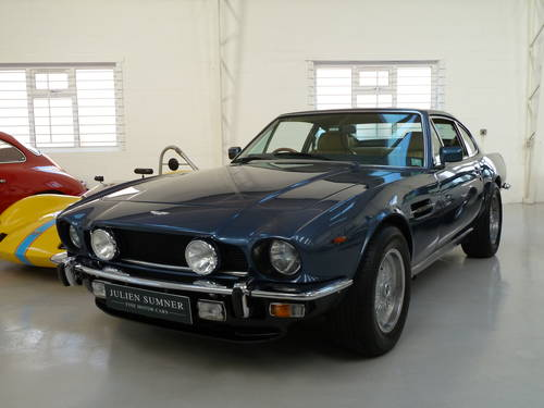 1986 Aston Martin V8 EFI Automatic -  A Superior & Rare Example SOLD (picture 1 of 6)