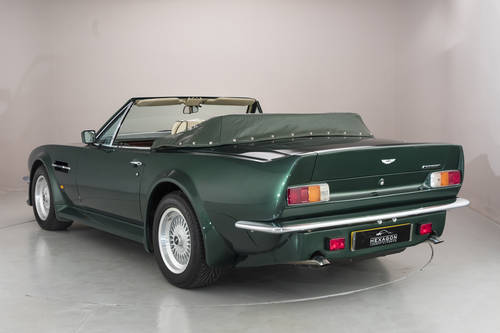 1989 ASTON MARTIN V8 VANTAGE VOLANTE X-PACK, MANUAL SOLD (picture 2 of 6)