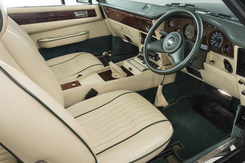 1989 ASTON MARTIN V8 VANTAGE VOLANTE X-PACK, MANUAL SOLD (picture 4 of 6)
