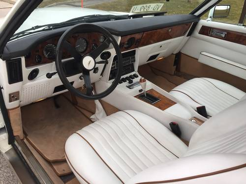 1982 ASTON MARTIN V8 Volante  LHD(Cabriolet)  For Sale (picture 4 of 6)