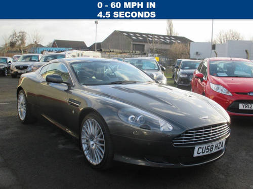 2008 ASTON MARTIN DB9 5.9 V12 2d AUTO 470 BHP For Sale (picture 1 of 6)
