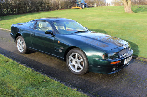 Aston Martin Virage V8 Coupe 1996 SOLD (picture 1 of 6)