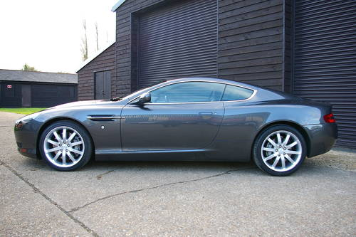 2006 Aston Martin DB9 5.9 V12 Automatic Coupe (44,321 miles) SOLD (picture 1 of 6)