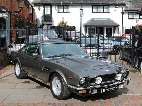 Aston Martin V8 Saloon with X Pack Specification Engine  For Sale (picture 1 of 6)