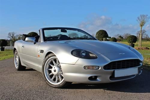 1999 Aston Martin DB7 i6 Volante Alfred Dunhill Edition For Sale (picture 1 of 5)
