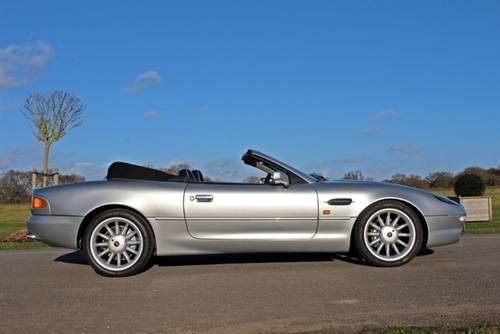 1999 Aston Martin DB7 i6 Volante Alfred Dunhill Edition For Sale (picture 2 of 5)