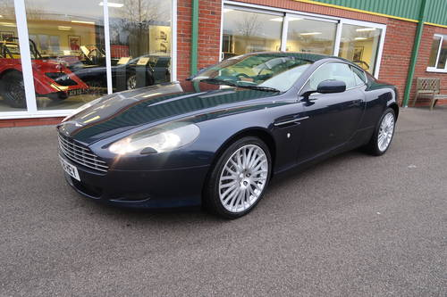 2009 Aston Martin DB9 5.9 V12 (470PS) 2dr in Midnight Blue SOLD (picture 1 of 6)