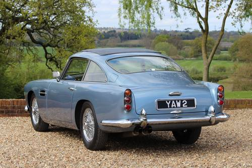 1961 Aston Martin DB4 Series 4 – GT engine from new For Sale (picture 2 of 6)