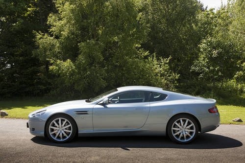 2004 Aston Martin V12 Coupe SOLD (picture 2 of 6)
