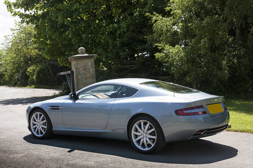 2004 Aston Martin V12 Coupe SOLD (picture 3 of 6)