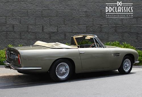 1968 Aston Martin DB6 Volante (RHD) For Sale (picture 2 of 6)