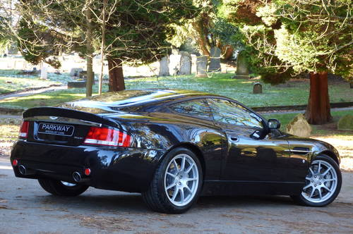 2005 Vanquish 6.0 V12 2+2 SDP EDITION (Just 15419 miles) For Sale (picture 6 of 6)