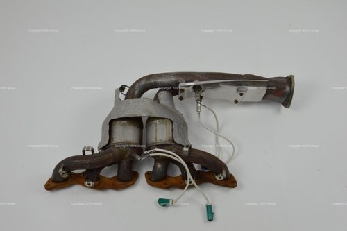 Aston Martin DB9 DBS Virage Right catalytic exhaust manifold For Sale (picture 1 of 3)