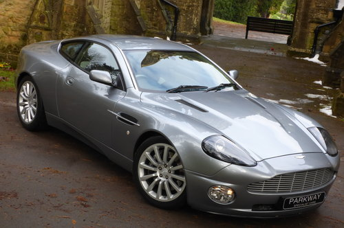 2002 Aston Martin Vanquish 5.9 V12 (Just 13176 miles) For Sale (picture 1 of 6)