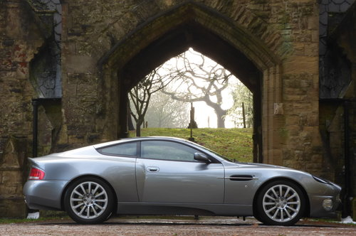 2002 Aston Martin Vanquish 5.9 V12 (Just 13176 miles) For Sale (picture 5 of 6)