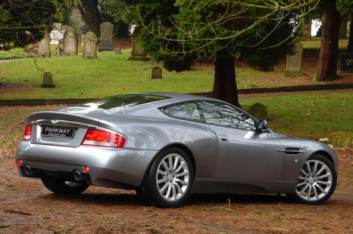 2002 Aston Martin Vanquish 5.9 V12 (Just 13176 miles) For Sale (picture 6 of 6)