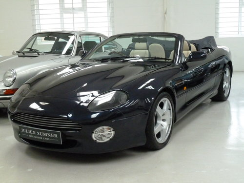 1999 Aston Martin DB7 Vantage Volante - Exceptional History SOLD (picture 1 of 6)