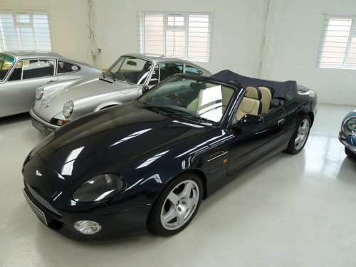 1999 Aston Martin DB7 Vantage Volante - Exceptional History SOLD (picture 2 of 6)