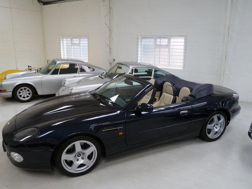1999 Aston Martin DB7 Vantage Volante - Exceptional History SOLD (picture 3 of 6)