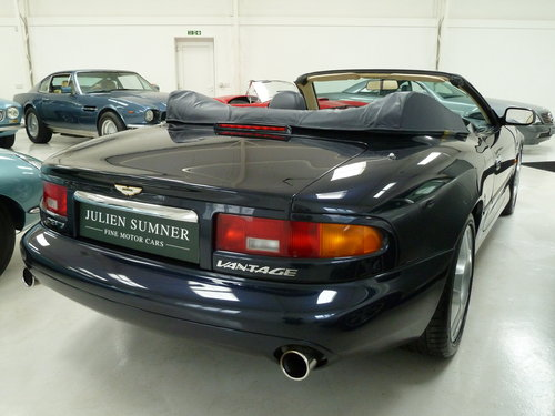 1999 Aston Martin DB7 Vantage Volante - Exceptional History SOLD (picture 4 of 6)