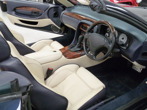 1999 Aston Martin DB7 Vantage Volante - Exceptional History SOLD (picture 5 of 6)