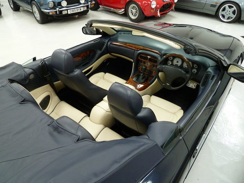 1999 Aston Martin DB7 Vantage Volante - Exceptional History SOLD (picture 6 of 6)