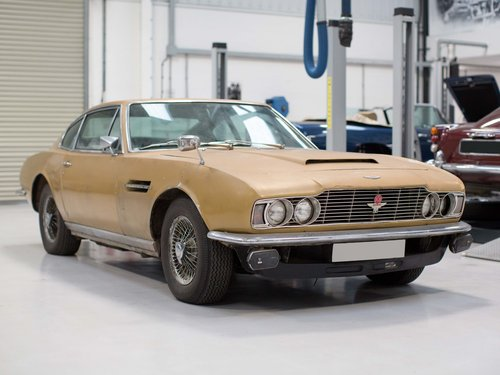 Aston Martin DBS (6-Cylinder) 1971 Manual For Sale (picture 1 of 5)