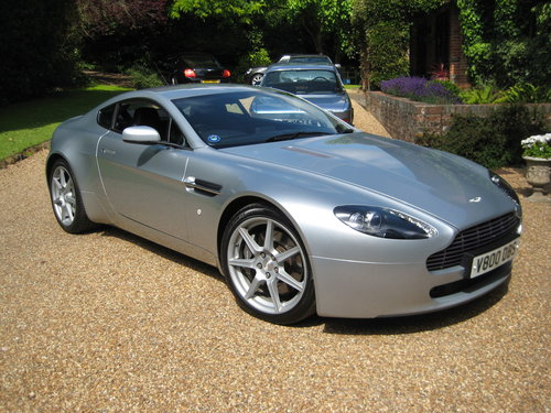 2006 Aston Martin Vantage V8 With Full Aston Main Agent History For Sale (picture 1 of 6)