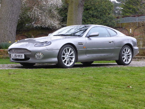 2001 Aston Martin DB7 Vantage For Sale (picture 1 of 6)