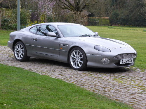 2001 Aston Martin DB7 Vantage For Sale (picture 2 of 6)