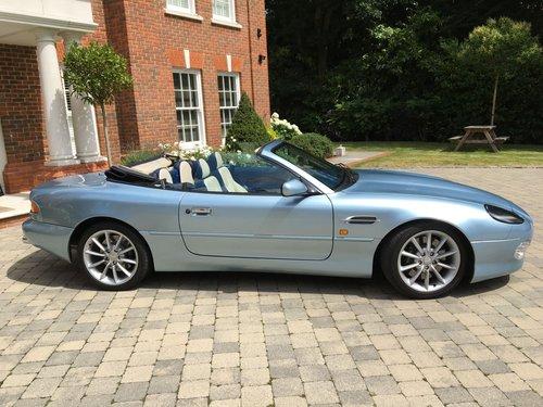 2001 Aston Martin DB7 Vantage Volante (Manual) V12 SOLD (picture 2 of 6)
