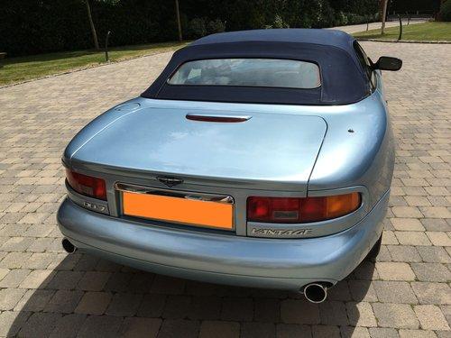 2001 Aston Martin DB7 Vantage Volante (Manual) V12 SOLD (picture 4 of 6)
