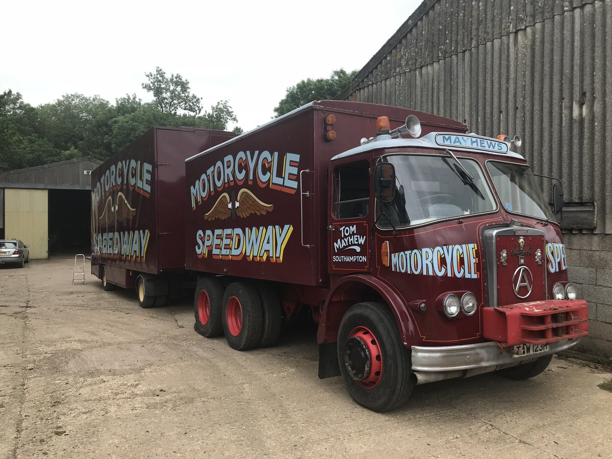 1965 Atkinson 6x4 Heavy Haulage Unit For Sale (picture 5 of 5)