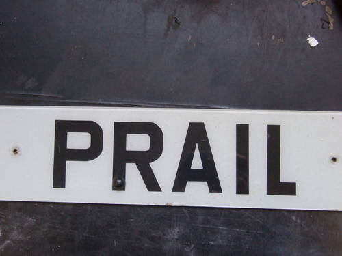 PRA 1L, P RAIL,  PRALL,  PRAIL, PRAILL For Sale (picture 1 of 2)