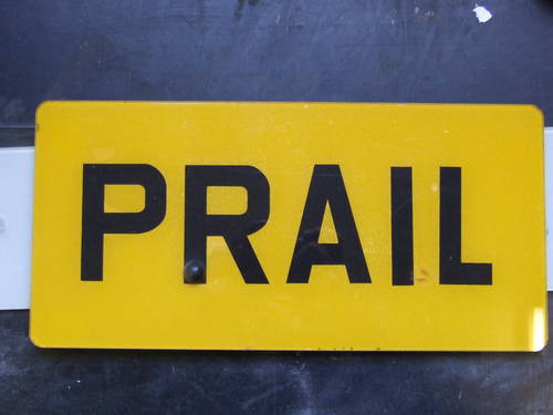 PRA 1L, P RAIL,  PRALL,  PRAIL, PRAILL For Sale (picture 2 of 2)