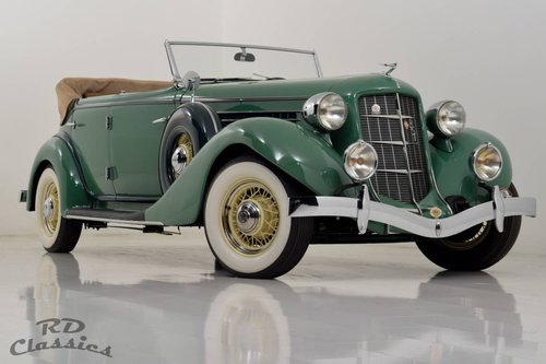1935 Auburn 851 Dual-Ratio Phaeton / Top Restauriert! For Sale (picture 1 of 6)