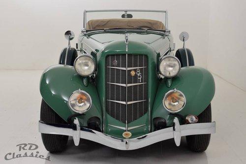 1935 Auburn 851 Dual-Ratio Phaeton / Top Restauriert! For Sale (picture 2 of 6)