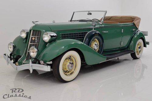 1935 Auburn 851 Dual-Ratio Phaeton / Top Restauriert! For Sale (picture 3 of 6)