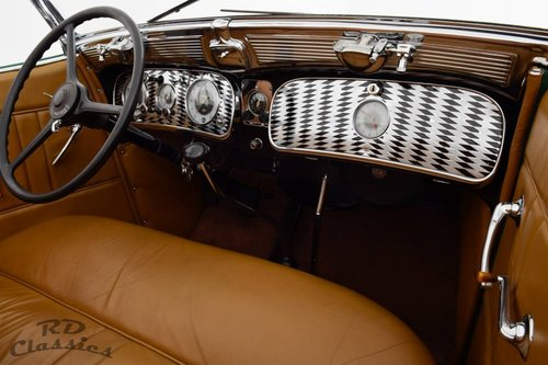 1935 Auburn 851 Dual-Ratio Phaeton / Top Restauriert! For Sale (picture 5 of 6)