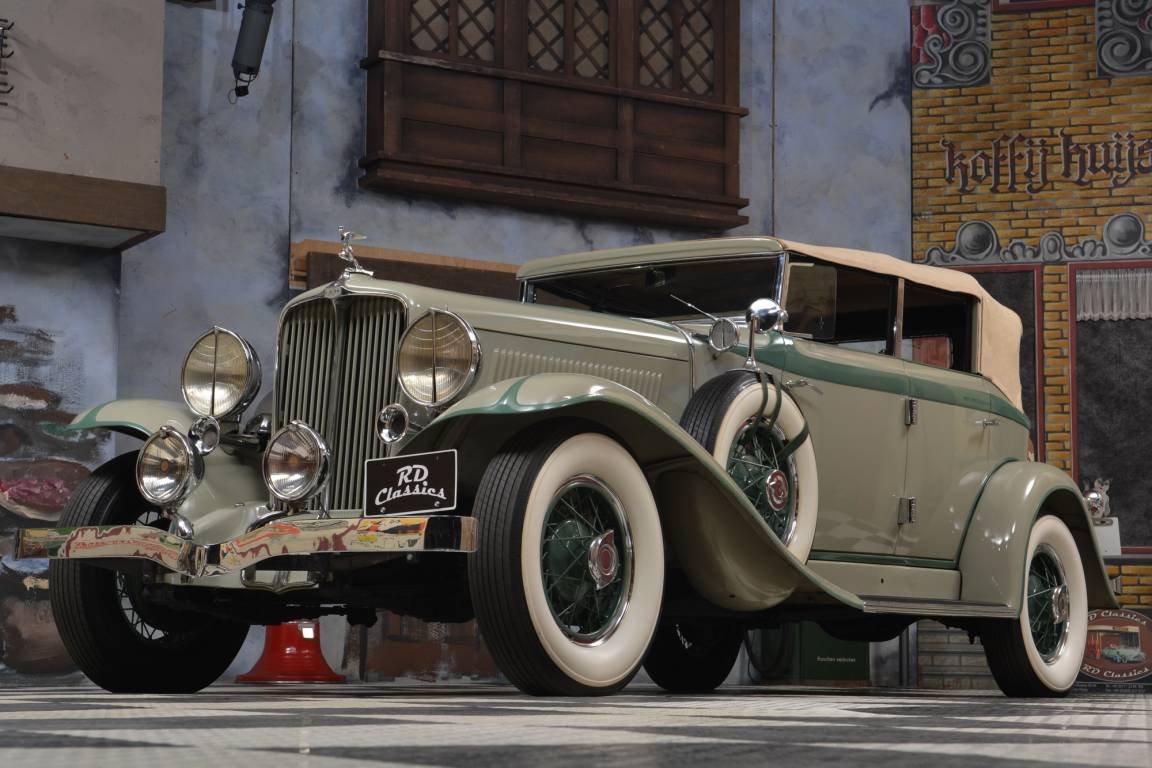 1933 Auburn 8-101 Phaeton Sedan / Top Restauriert For Sale (picture 1 of 6)