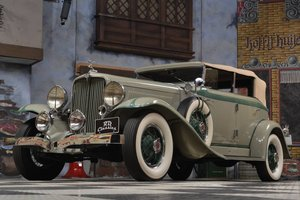 1933 Auburn 8-101 Phaeton Sedan / Top Restauriert For Sale