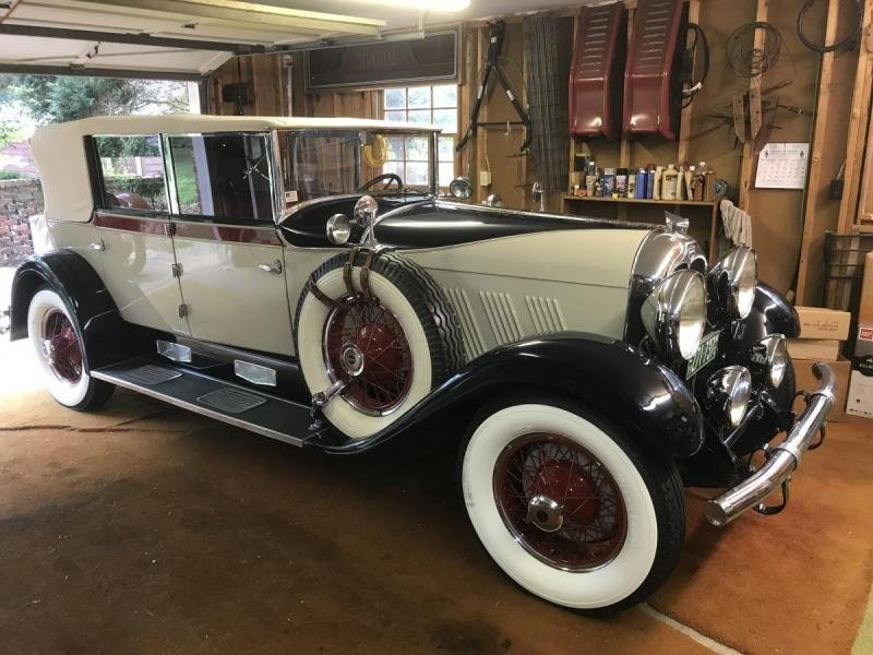 1928 Auburn Phaeton Convertible Sedan RARE Award Winner For Sale (picture 1 of 6)