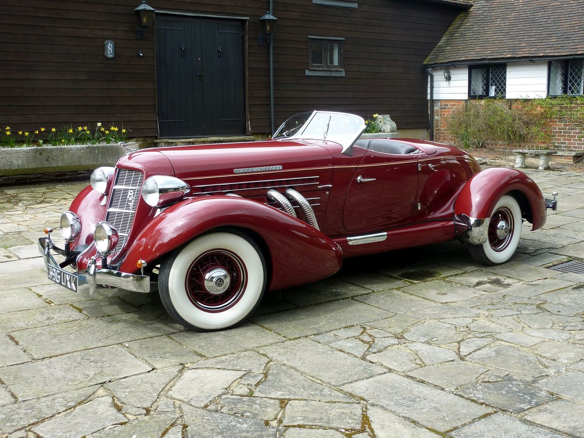 1936 RHD Auburn 851 Supercharged Boat Tail Speedster For Sale (picture 1 of 6)