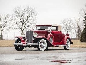 1932 Auburn Eight Custom Cabriolet  For Sale by Auction