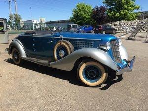 1935 AUBURN 851 Custom Cabriolet