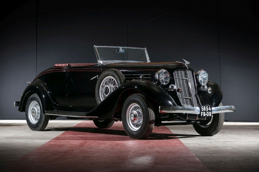 1935 Auburn 653 cabriolet avec spider - No reserve For Sale by Auction (picture 1 of 6)