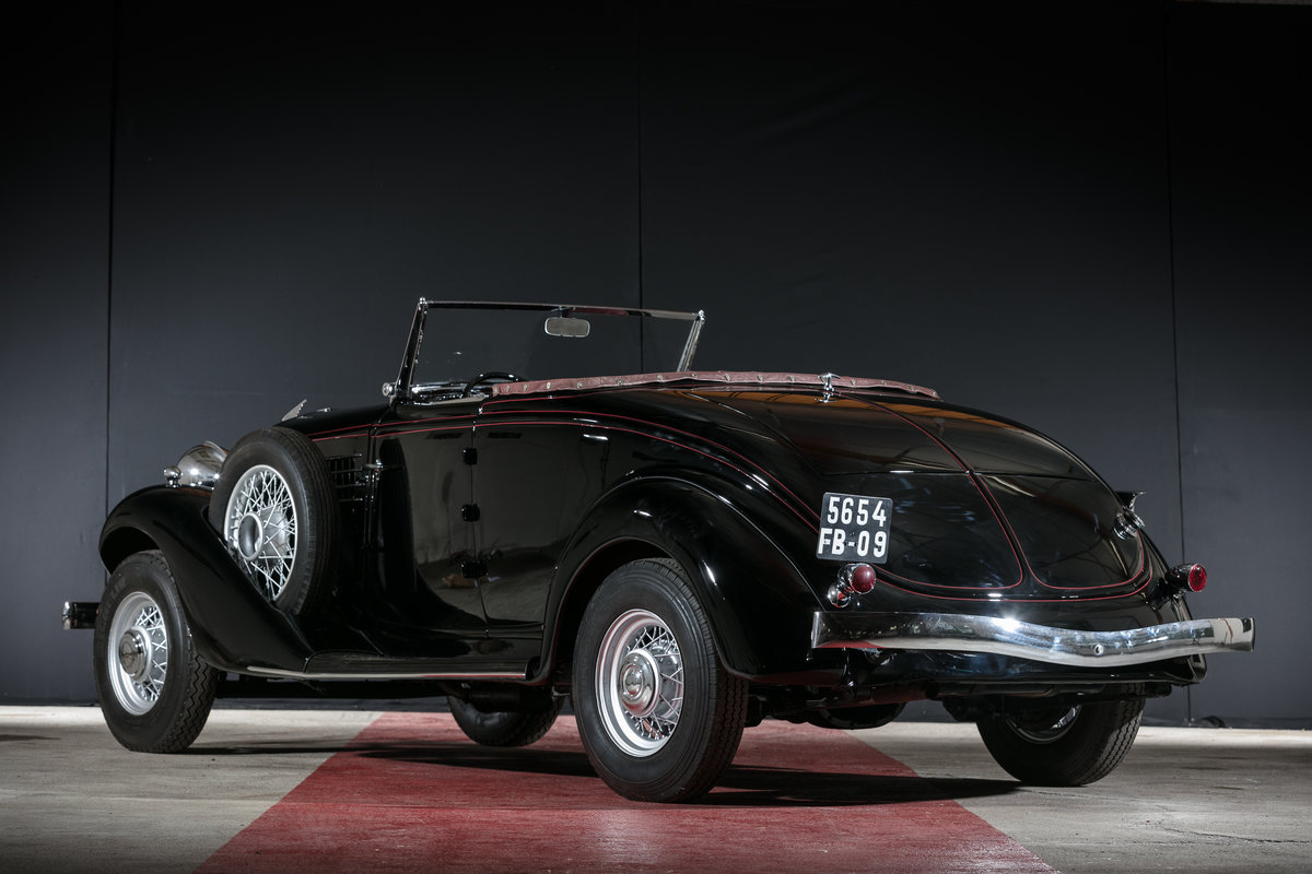 1935 Auburn 653 cabriolet avec spider - No reserve For Sale by Auction (picture 2 of 6)